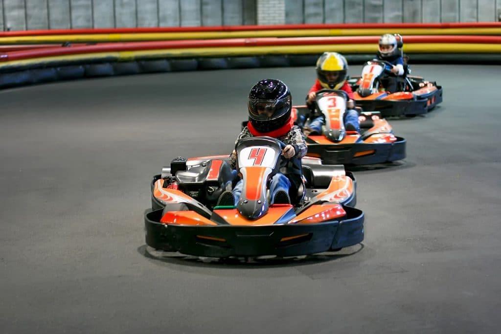 Le karting pour les jeunes enfants