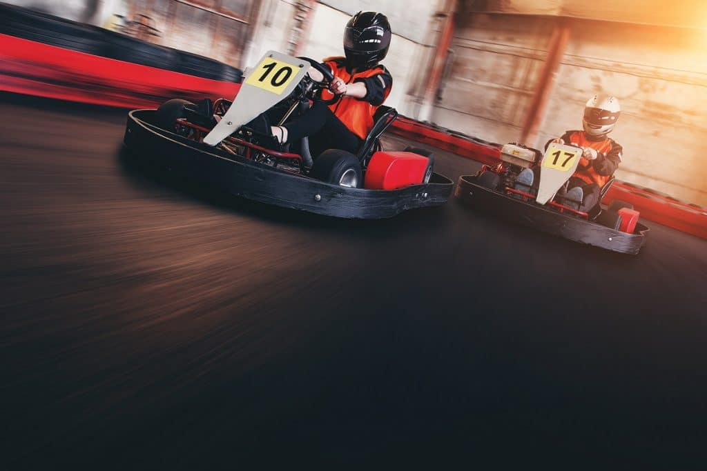 Le karting indoor pour adulte